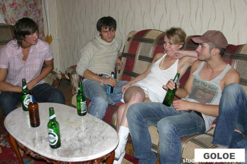 Секс с пьяными девушками