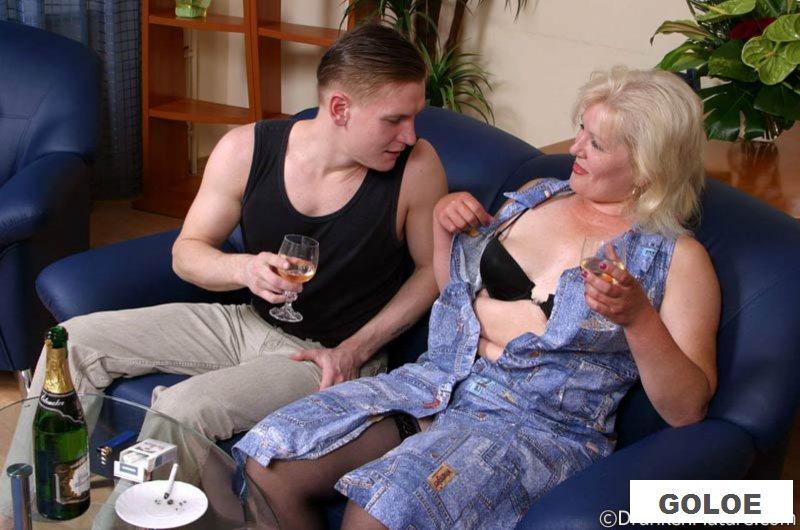 Секс с бухой жирной бабой