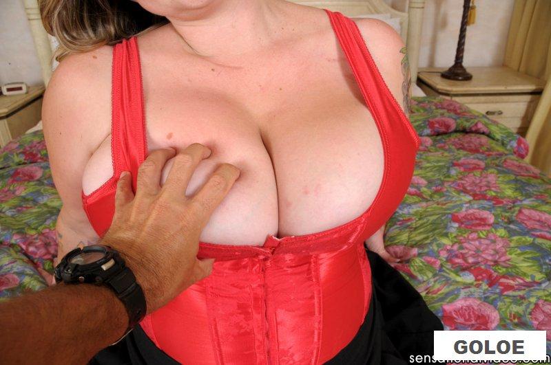 Безумный секс пышной женщины и ее любовника