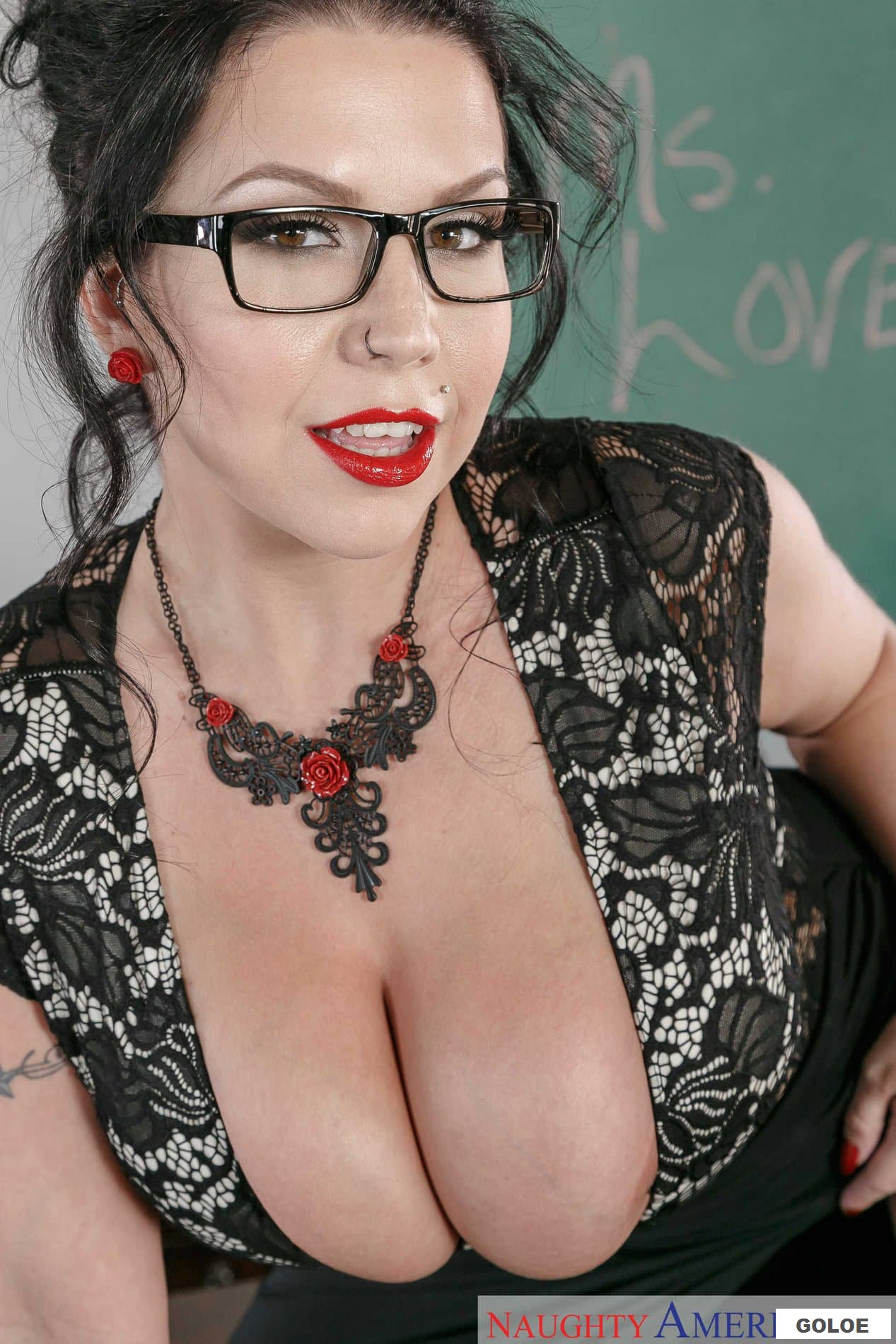 Голая зрелая учительница